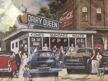 Coca Cola Dairy Queen Refreshing Times  Art Paint w/ COA by Pame in Byron, Georgia