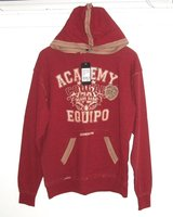ONLY $2 NEW w Tags Warp College Academy Cougar Miami Base Hooded Sweatshirt Womens Small Junior in Morris, Illinois