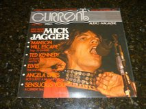 MICK JAGGER/ROLLING STONES-CURRENT AUDIO MAGAZINE in Yucca Valley, California