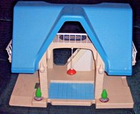 Large Vintage little tikes rare blue roof doll house in Alamogordo, New Mexico