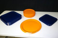Orange and Blue Dishes in Joliet, Illinois