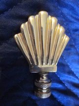 Brass Lamp Finial Fan / Shell Shaped ~ EXCELLENT in Batavia, Illinois