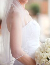 Wedding Veil in Beaufort, South Carolina
