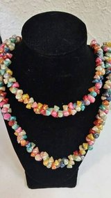 Vintage Hawaiian trochus shell lei necklace in Temecula, California