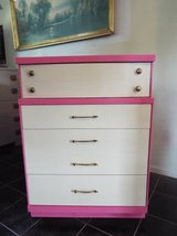 Dresser*All Wood*Four Drawers*New Paint.Ex Condition in Fort Leonard Wood, Missouri