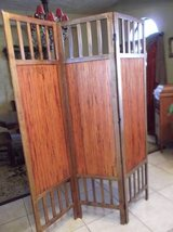 Three Panel Room divider/screen in Las Cruces, New Mexico