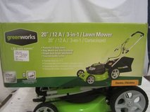 *GreenWorks 25022 12 Amp Corded 20-Inch Lawn Mower in Glendale Heights, Illinois