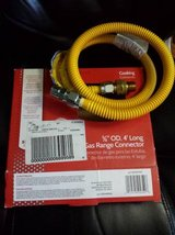 Gas Range Connector, 5/8 OD, 4' long Paid $33. in Vacaville, California