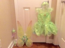 Disney Tinker Bell Costume 5-6 size in Fort Campbell, Kentucky