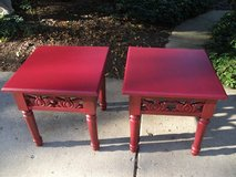 PIER  1 ALL HARDWOOD END TABLES MINT in Naperville, Illinois