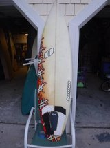 Surfboard> 6'1 ORION Surfboard> GREAT GRAPHICS! in Wilmington, North Carolina