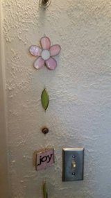 "Cute 24"" stained glass wall hanging in Temecula, California"