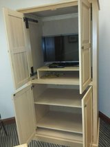 Like new Pine TV cabinet and office large cabinet in Lake of the Ozarks, Missouri