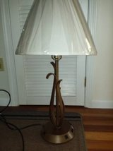 Lot of 8 - Bronze 26 in. desk lamp with phone jack and power outlet in Lake of the Ozarks, Missouri