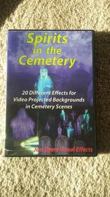 SPIRITS IN CEMETERY DVD - Jon Hyers HalloweenVideo Projection Effects in Chicago, Illinois