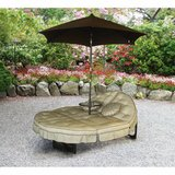 Deluxe Orbit Patio Chaise Lounge with Umbrella  - NEW! in Bolingbrook, Illinois