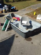 Water Quest 9.5' Boat 2 seats Used One season in Dover, Tennessee
