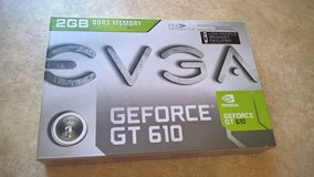 Brand New EVGA GeForce GT 610 2GB 64-Bit DDR3 PCI Express 2.0 x16 HDCP Low-Profile Bracket Included in Naperville, Illinois