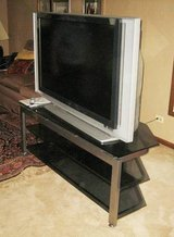 """SONY 50"""" SXRD PROJECTION TV - Model #KDS-R50XBR1 + STAND in Aurora, Illinois"""