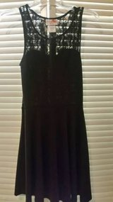Black stretchy dress for Juniors in Temecula, California