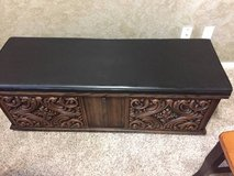 Classic Black RED cedar, aromatic, memory chest to keep treasures in Fort Lewis, Washington