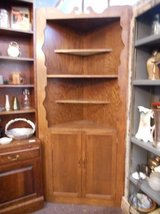 Oak Corner Cabinet in Elgin, Illinois