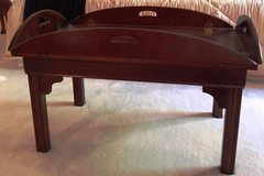 Cherry Butler Style Coffee Table in Naperville, Illinois