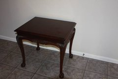 Lane End Table Side Table Carved Solid Wood Ball And Claw in Spring, Texas