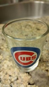New Chicago Cubs licensed shot glass with Hologram in Temecula, California