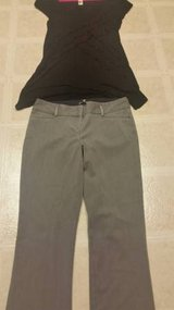 Express ladies trousers and Kenar top in Camp Pendleton, California