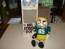 Ultra Rare Vintage NFL Green Bay Packers Stress Doll Tear Apart New!! in Brookfield, Wisconsin