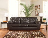 ** ASHLEY LEATHER QUEEN SLEEPER SOFA ** LAST ONE! ** STILL IN PLASTIC! in Nashville, Tennessee
