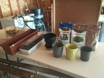 Gardening supplies, acidifier, plant food, seed trays in Cleveland, Ohio