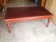 Vintage cherry wood Large Coffee Table in Fort Benning, Georgia