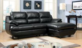 Quay Sectional Sofa Bonded Leather FREE DELIVERY++ in Miramar, California