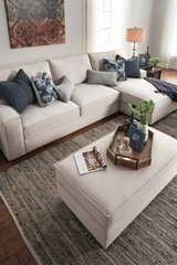 ** BRAND NEW ** ASHLEY LINEN SOFA SECTIONAL ** NO CREDIT NEEDED ** in Fort Campbell, Kentucky