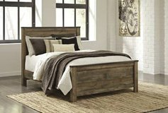 ** BRAND NEW ** ASHLEY QUEEN INDUSTRIAL WOOD BED ** NO CREDIT ** in Nashville, Tennessee