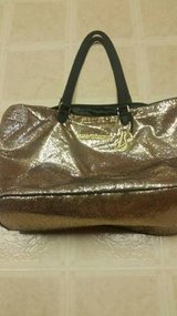 Victoria's Secret new glitter gold weekender bag in Temecula, California