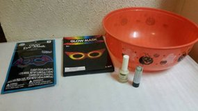 New glow items and new bowl in Temecula, California