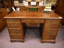 Antique Wood Desk in Elgin, Illinois