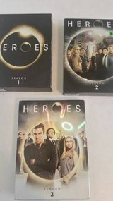 Heroes Season 1-3 DVDS in Oceanside, California