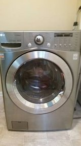 LG TrueSteam Electric Washer & Dryer in Algonquin, Illinois