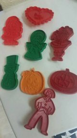 8 Vintage cookie cutters in Vista, California
