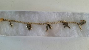 "A brand new 7"" charm bracelet in Camp Pendleton, California"