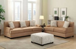 New MicroSuede Sofa with Loveseat FREE DELIVERY in Miramar, California