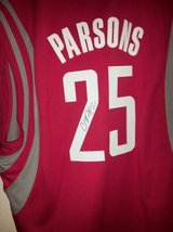 Signed Chandler Parson Houston Rockets jersey in The Woodlands, Texas