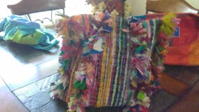 womans large colorful purse in Kingwood, Texas