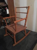 child's rocking chair antique in Fort Riley, Kansas