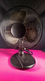 """Mainstays 12"""" Oscillating Table Fan with 3 Speeds in Clarksville, Tennessee"""