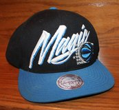 Mitchell & Ness Hardwood Classics Wool Orlando Magic Snapback Cap, Black, Blue in Chicago, Illinois